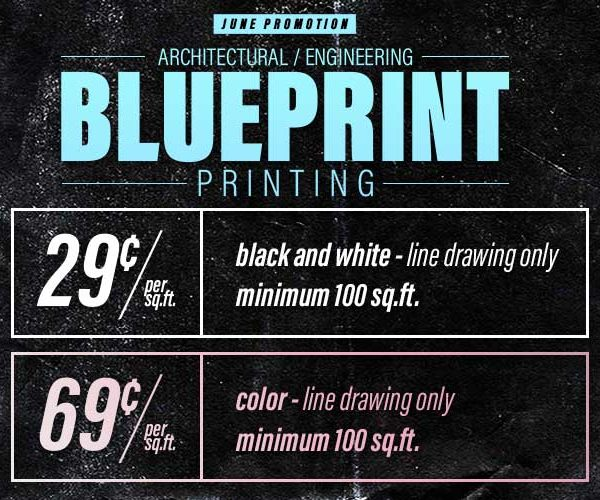 reston copy center blueprint printing sale