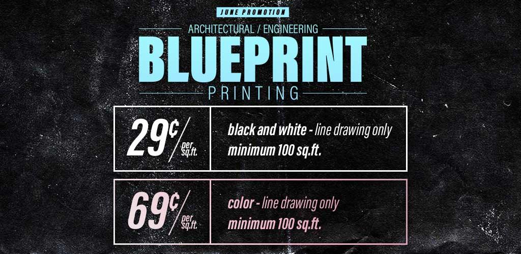reston copy center blueprint printing sale