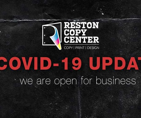 covid update - reston copy center