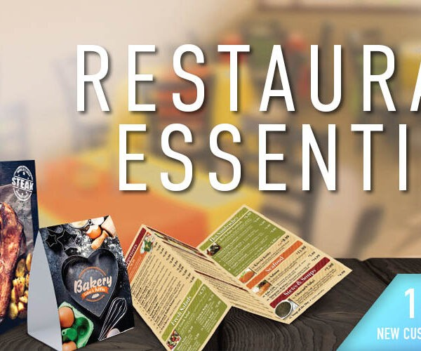 restaurant essentials printing